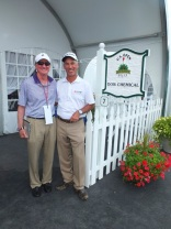 CSN president and Dow consultant Bill Colvin with U.S. Open Champion Corey Pavin at 2013 U.S. Open.